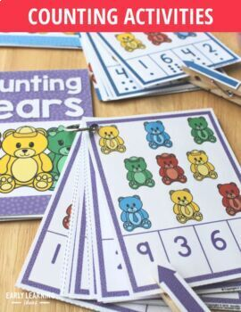 Bear Activities Bundle | Teddy Bear Math Activities