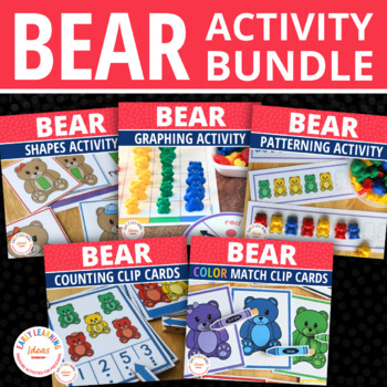 Bear Activities Bundle