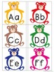 Bear Alphabet Matching - Upper case and Lower case Match Activity