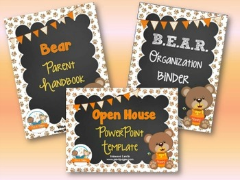 Bear Back-to-School Timesaver Bundle