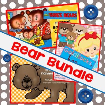 Bear Bargain Bundle: Three Bears and Brown Bear, Brown Bear