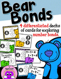 Bear Bonds Card Game (differentiated number bond practice)