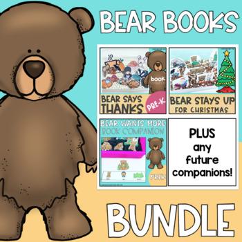 Bear Book Companion Bundle for Speech Therapy- Low Prep