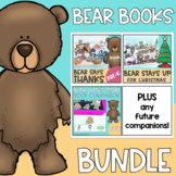 Bear Book Companion Bundle for Speech Therapy- Low Prep