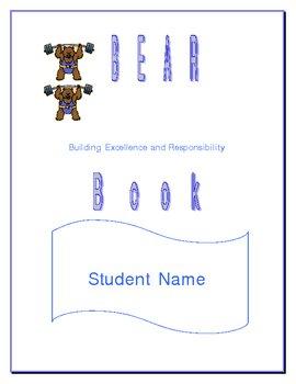 Bear Book Student organizer
