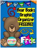 Bear Books Graphic Organizer FREEBIE! Sample from Bundle of Karma Wilson's Books