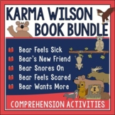 Karma Wilson Author Study Bundle