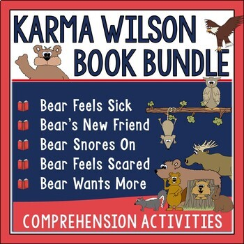 Karma Wilson Author Study Bundle