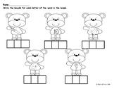 Bear CVC Worksheet