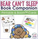 Bear Can't Sleep:  Speech & Language Activities