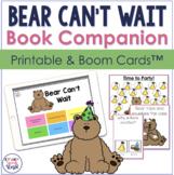 Bear Can't Wait Speech & Language Activities | Boom™ Cards