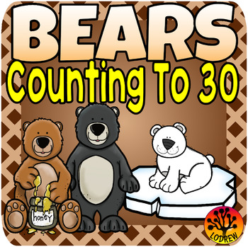 Bear Centers Activities Counting To 30 Math Centers Tally