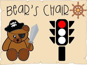 Bear Chair Calm Down Posters