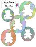 Bear Circle Clip Art
