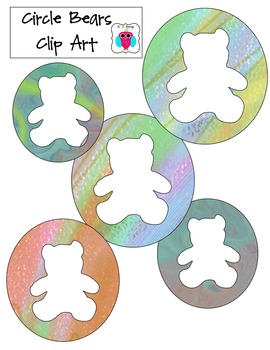 Bear Circle Clip Art
