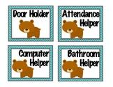 Bear Classroom Jobs