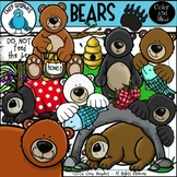 Bear Clip Art Set - Chirp Graphics
