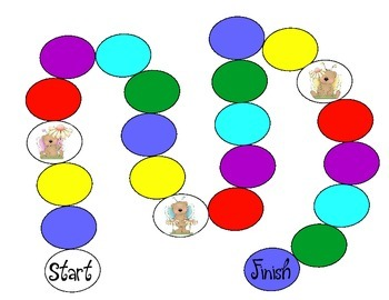 Bear Color Matching and Counting Game