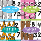 Math Centers - 4 Early Addition & Subtraction Activities