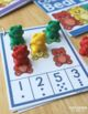 Bear Counting Clip Cards