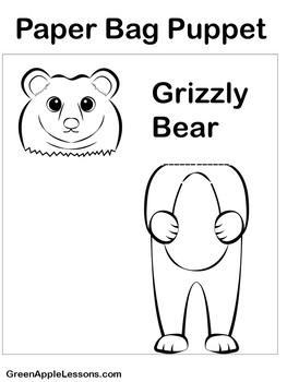 Bear Craft | Bear Activity | Grizzly Bears