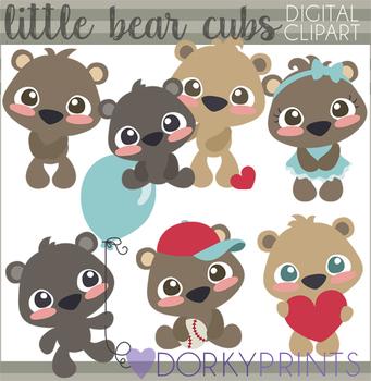 Bear Cubs Clipart
