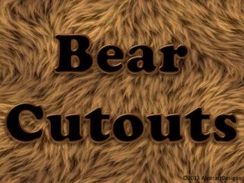 Bear Cutouts