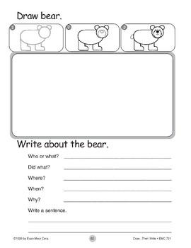 Bear (Draw...Then Write)