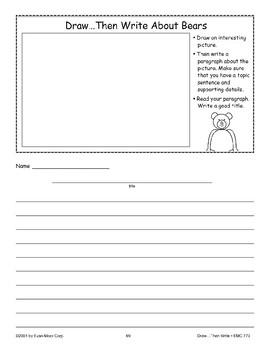 Bear (Draw Then Write)
