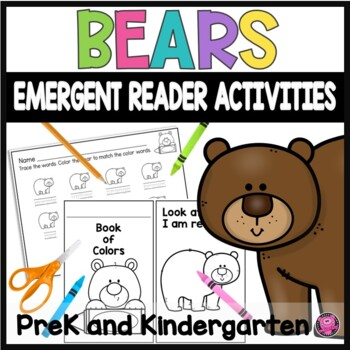 Emergent Readers Activities for Kindergarten