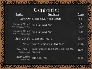 Bear Emergent Readers