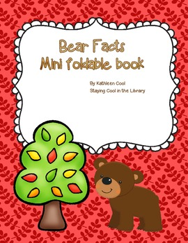 Bear Facts - Free Foldable Minibook
