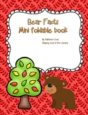 Bear Facts - Free Foldable Minibook