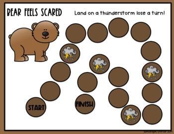 Bear Feels Scared: A Karma Wilson Book Study