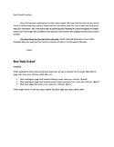 Bear Feels Scared Speech/Language/Fluency Activities