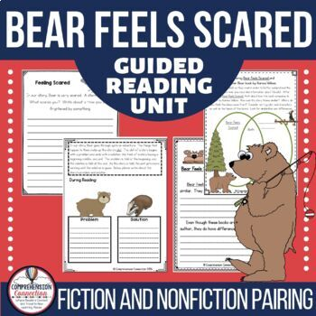 Bear Feels Scared Guided Reading and Writing Unit