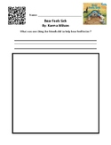 Bear Feels Sick - QR Code and Recording Sheet