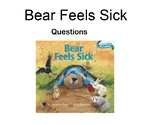 Bear Feels Sick Question Book