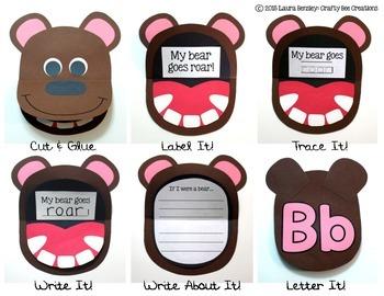 Bear Craft {Flip Book}