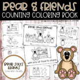Bear & Friends 0-8 Color & Count Book (Bear Says Thank) -