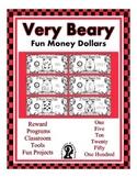 Bear Fun Money Dollars - Teach Money, Use for Rewards, Support Centers