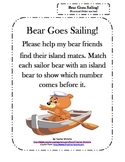Bear Goes Sailing!  File Folder Game