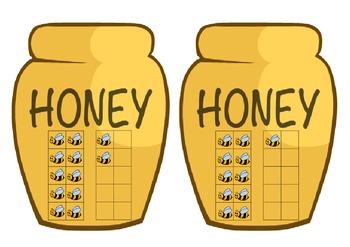 Bear & Honey Pot Number Match 0 - 20