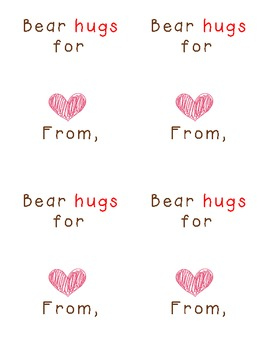 """Bear Hugs"" for Your Students"
