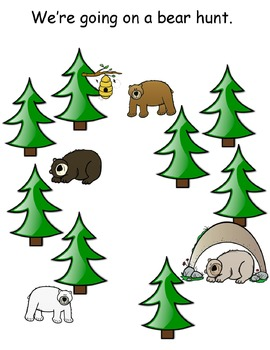 Bear Hunt Activity and Party Pack