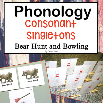 Phonological Patterns: Initial and Final Consonants, Bear Hunt and Bowling