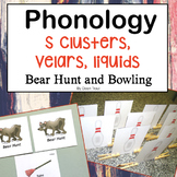 Phonology S Clusters Velars and Liquids Bear Hunt and Bowling