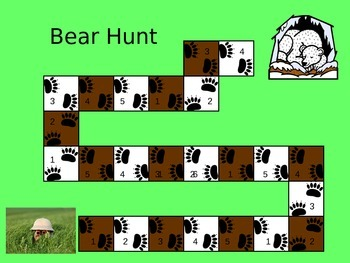 Bear Hunt - Game of Making 5 (Structuring Number)