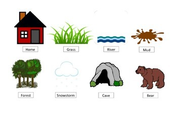 Bear Hunt Story Retell Prompt Visual