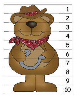 Bear Indian Number Puzzle